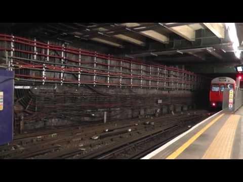 Лондонское метро действия Поезда метро от Бейкер-стрит, 2012, Стратфорд, Royal Oak, Санкт-Ливерпуль