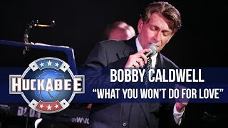 "Bobby Caldwell Performs ""What You Won't Do For Love"" 