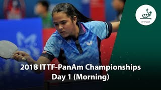 ITTF Pan Am Championships Day 1 Morning