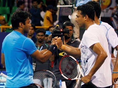 Leander Paes Wins the Bhupathi Battle in Chennai - TOI