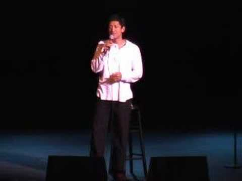Indian Comedian Dan Nainan  Stand Up Comedy for 1800 People!