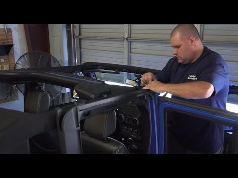MUST SEE NEW!! How to Install your Soft Top 2011 2012 2013 2014 Jeep Wrangler JK Dual Top