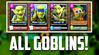 Clash Royale - ONLY GOBLINS! Funny Troll Deck