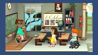 Trường học siêu quậy. Tập 3: Sư Tử vs Gấu Xám. Phim hoạt hình