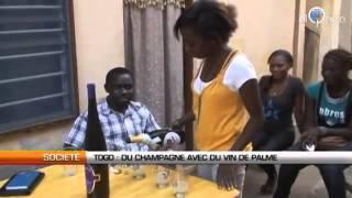 Dehachampe - Champagne (à base de vin de palme) made in Togo