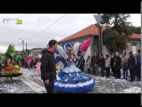 Espirito carnavalesco animou freguesia de Nespereira