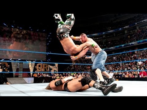 John Cena Vs. Triple H Vs. Shawn Michael  Survivor Series 2009  Highlightsᴴᴰ video