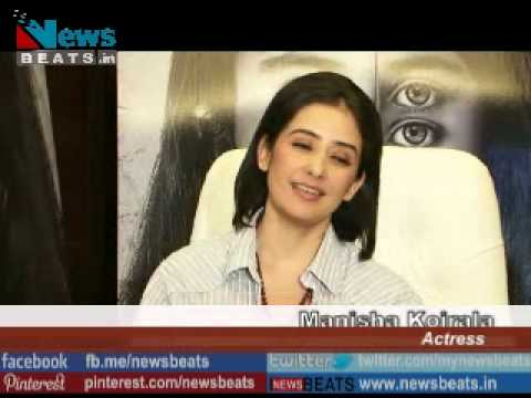 Sexy Manisha Koirala interview for Bhoot Returns