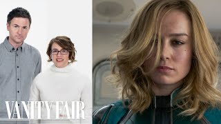 Captain Marvel's Directors Break Down the Train Fight Scene | Vanity Fair