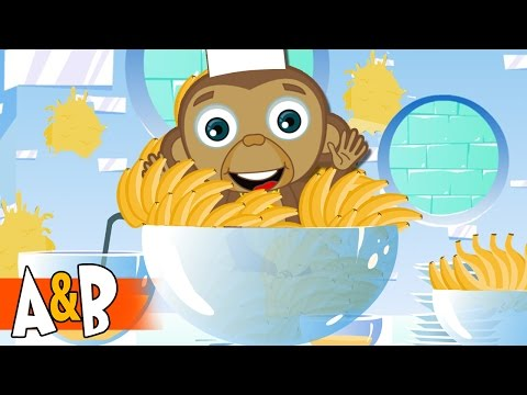 Go Bananas At The Ice Hotel #19 | Cartoons for Children | The Adventures of Annie and Ben
