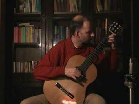 Francisco TÁRREGA - Estudio en mi minor