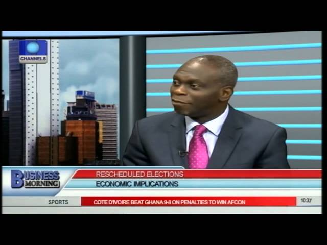 Business Morning: Analysts Reveal Economic Implications Of Election Postponement Pt.1
