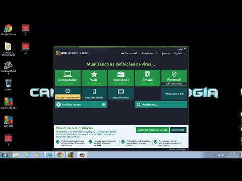 Tutorial: como baixar e instalar o AVG AntiVirus Free (Grátis) 2014