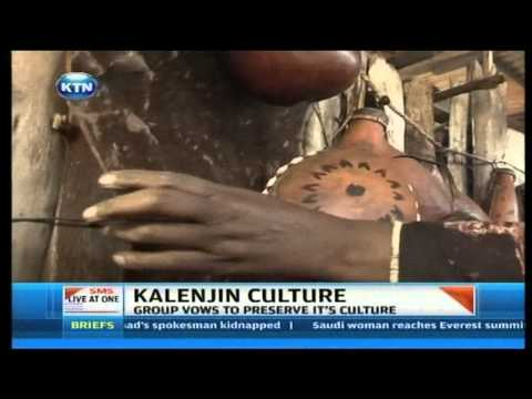 Maintaining Kalenjin culture
