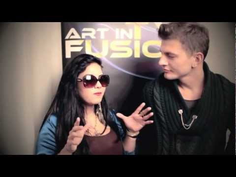 ART IN FUSION TV - behind the scenes Fashion Movie interviewing Celebrity Stylist WALTER STOJASH