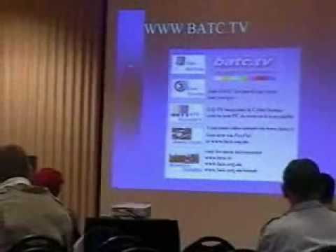 SSTV Hams and Video Forum Hamvention 2009 part 1