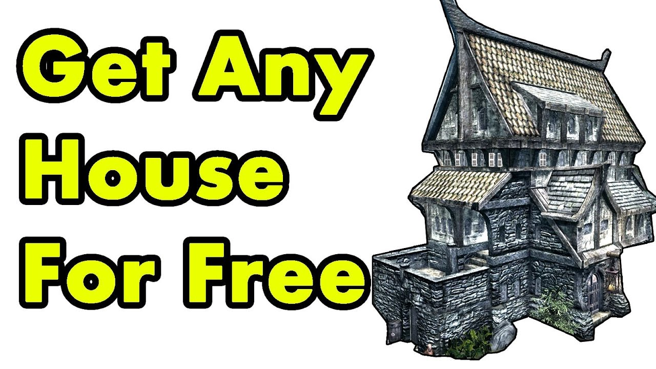 Skyrim how to buy any house for free youtube for Find a house online