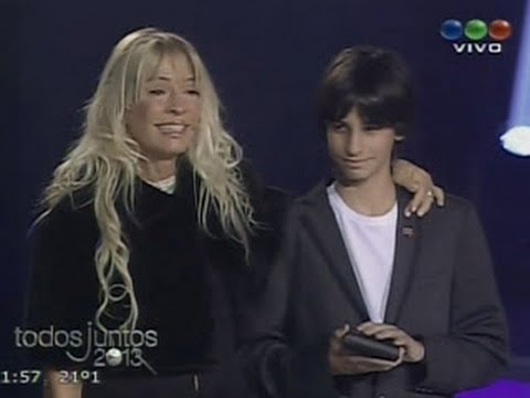 El emotivo homenaje de Telefe a Cris Morena 2013