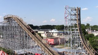 Switchback Review ZDT's Amusement Park Wooden Shuttle Coaster