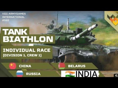 International Tank Baithlon .indian vs Chinese tanks .whose tank better .