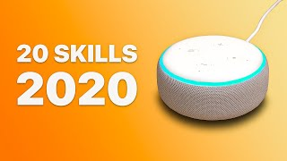 20 Useful Amazon Alexa Skills for 2020!