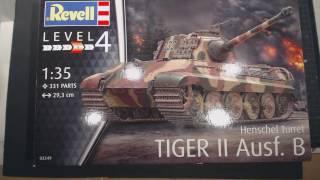 Revell Tiger II Ausf.B Henschel Turret in 1/35 Bausatzbesprechung