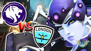 Overwatch - The GREAT Widow BAMBOOZLE! Gladiators Vs Spitfire [Pro OverAnalyzed]