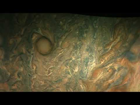 Jupiter Perijove-08 Animation Derived from JunoCam Images