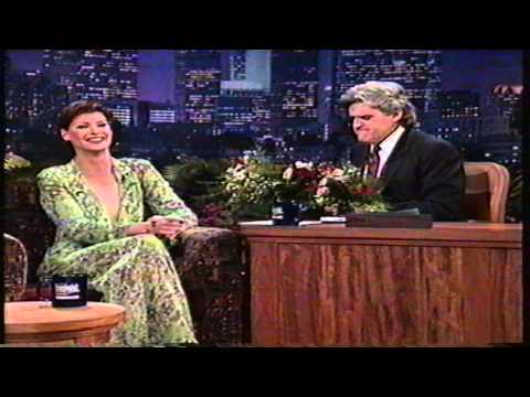 Linda Evangelista on The Tonight Show 1995