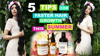 5 Tips On How To Grow Your Hair Long Fast This Summer-Beautyklove