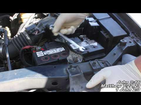 Ford Escape Alternator Remove & Replace
