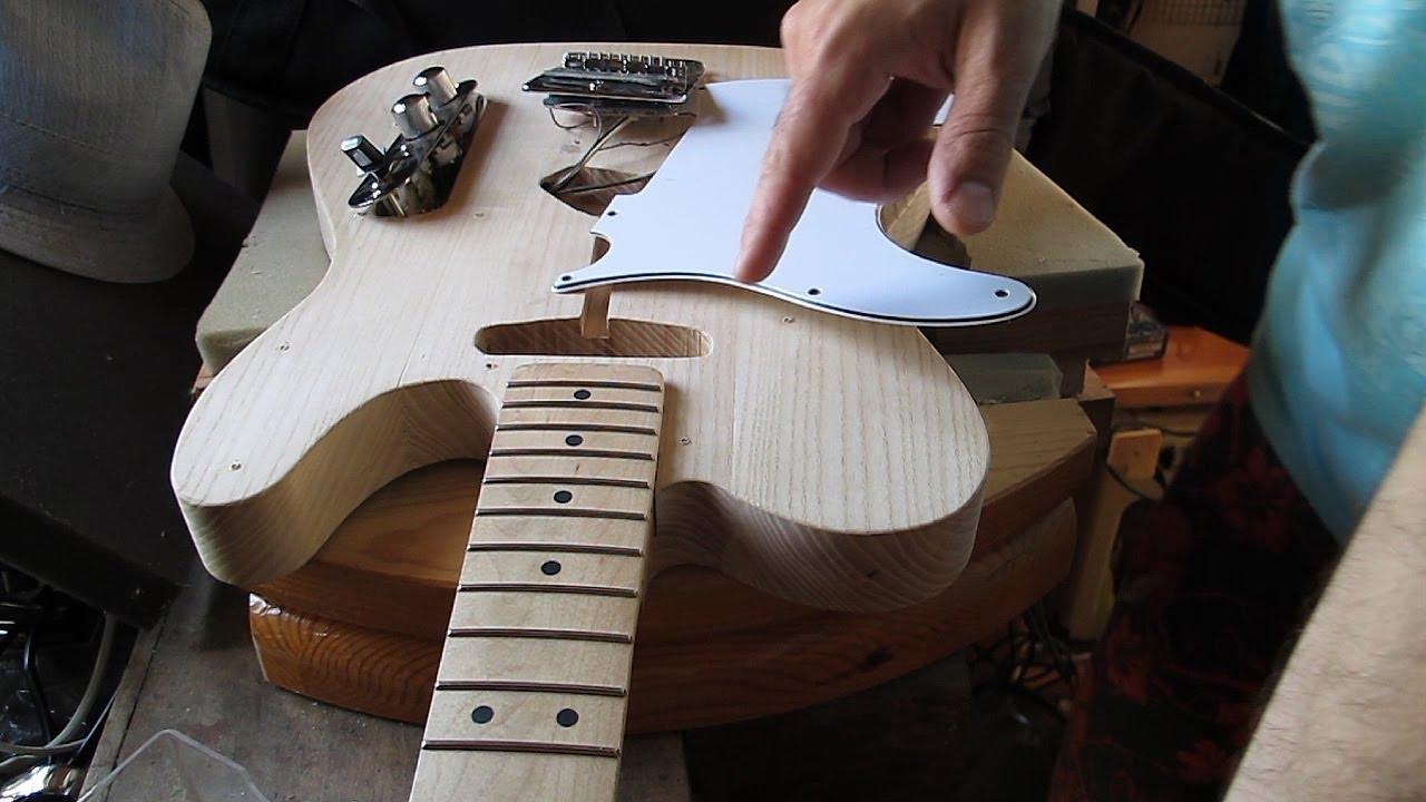 Fabriquer une guitare lectrique 2e partie avec zamzam - Fabriquer une guirlande electrique ...