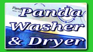 Full Time RV Living: Energy-Saving Panda Washer/Dryer Demo
