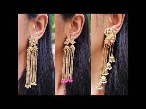 Latest Fashion Earring Jewellery Designs - She Fashion
