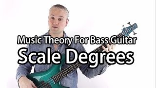 Scale Degrees Of The Major Scale (Why a Dominant 7 chord is a Dominant 7 chord!)
