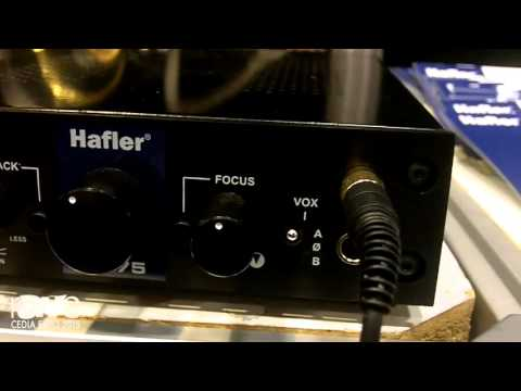 CEDIA 2015: Hafler Shows HA75 Tube-Driven Headphone Amplifier