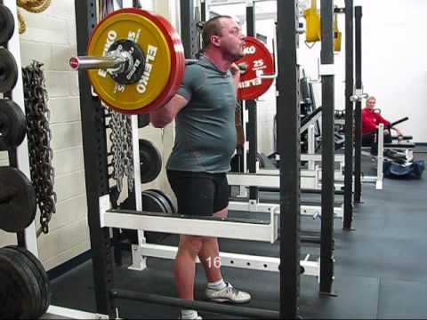 Squat 462x20, Raw, Deep, No Belt, No Wraps Image 1