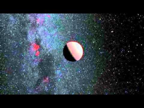 Impressão artística do famoso exoplaneta Tau Boötis b