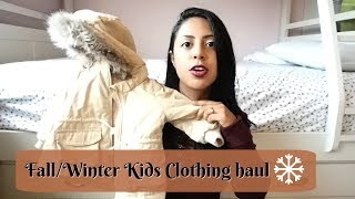 Fall/Winter Kids Clothing Haul!