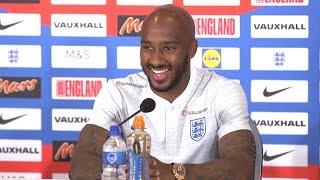 Fabian Delph Full Pre-Match Press Conference - Tunisia v England - Russia 2018 World Cup 🏆