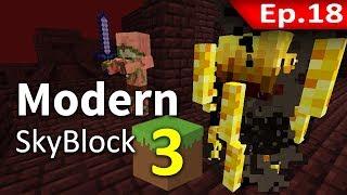 🌳 Modern Skyblock 3 - เล่นซะเกือบตาย #18