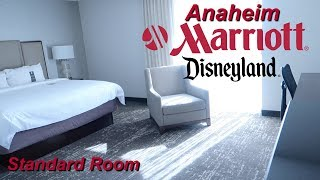 Anaheim Marriott Disneyland Resort Standard Room Tour 2018