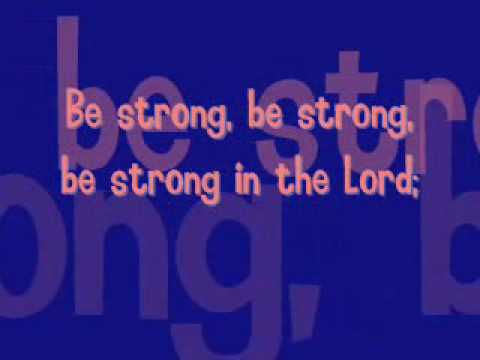 Linda Lee Johnson - Be Strong In The Lord