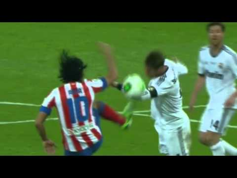 Sergio Ramos Acting Vs Atletico Madrid Copa del Rey