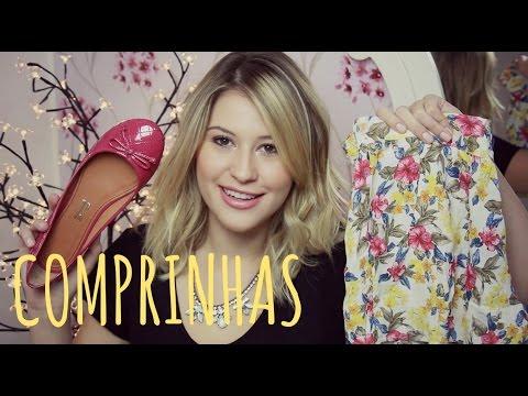 Comprinhas Fashion: Zara, YouCom, Santa Lolla