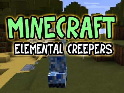 Minecraft: The ELEMENTAL CREEPERS Music Videos