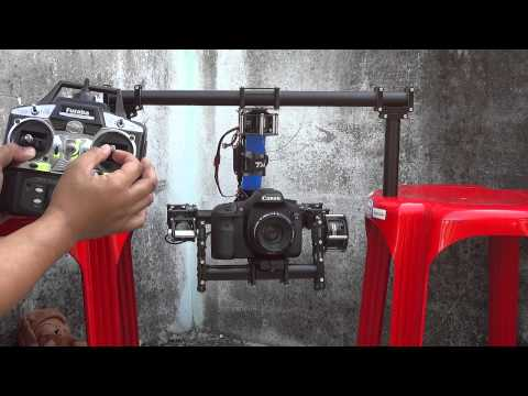 3 Axis  Brushless Gimbal For DSLR