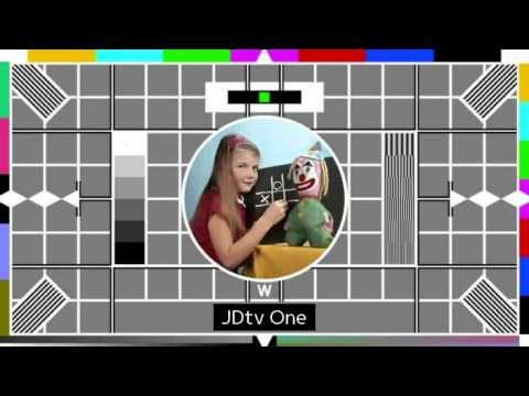 JDtv One Test Card W