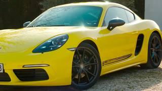 Porsche 718 Cayman T Design in Racing Yellow