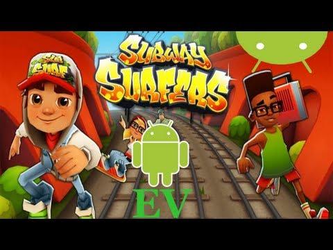 Subway Surf para Galaxy Ace + TOP 5 juegos android GRATIS   Android Evolution